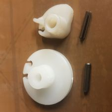 Nylon Gear and Throttle pulley kit with pins